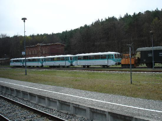 Usedom Island, Germany: Bahnimpressionen auf Usedom