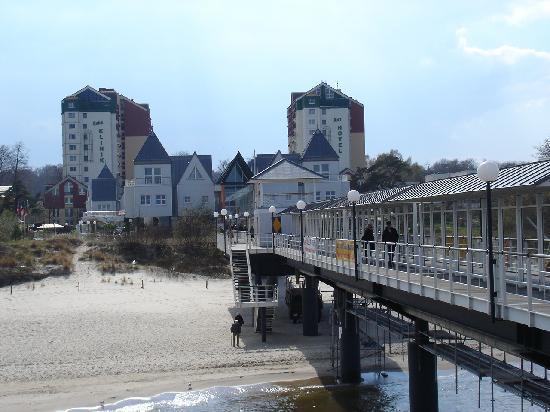Seebad Heringsdorf, Tyskland: Die Seebrücke in Heringsdorf