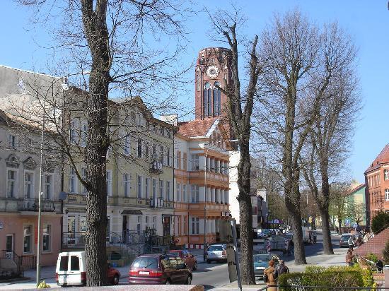 Swinemuende, เยอรมนี: Der alte Kirchturm, den man besteigen kann