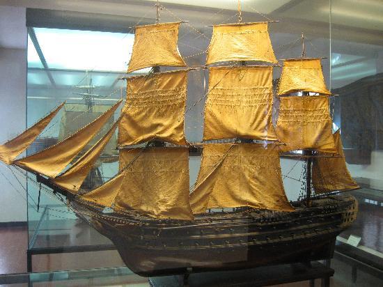 Naval History Museum Venice: Model ship