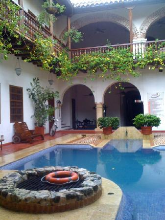 Hotel Casa del Arzobispado: Courtyard
