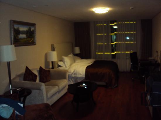 Huabin International Hotel: Our hotel room - November 2010