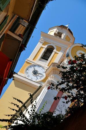 Villefranche-sur-Mer, France: Clocktower at Villfranche