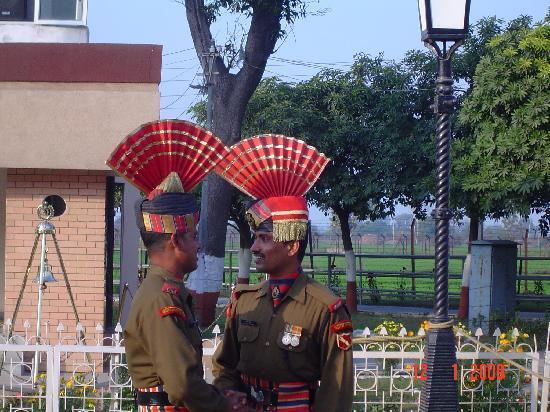 Amritsar, Índia: Wagah border