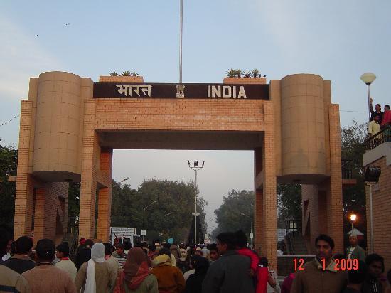 Amritsar, Indien: Wagah border