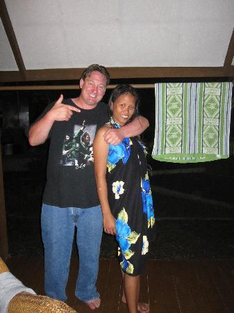 Busuanga Island Paradise : On the deck at night