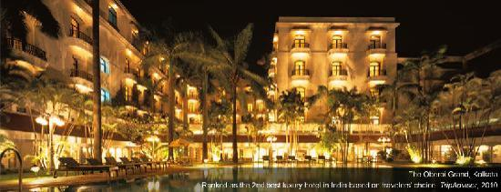 The Oberoi Grand: The Outside of the Hotel