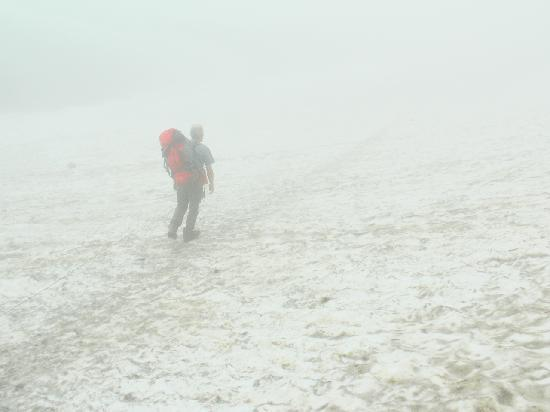 Mt. Chokai : 雪渓