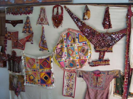 The Thar Heritage Museum: Colorful dresses of the desert people