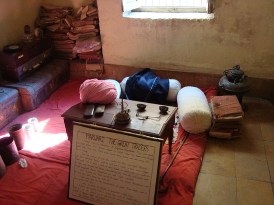 The Thar Heritage Museum: Typical marwari office of yesteryears