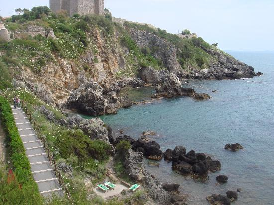 Talamone, Italia: vu de la chambre