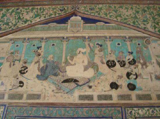 Bundi, India: Beautiful paintings