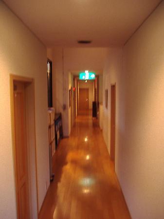 Takayama Park City Hotel: Pasillo del primer piso