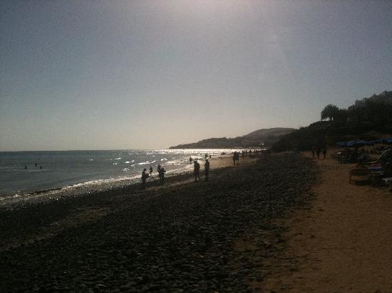 Der Strand am Hotel Barlovento