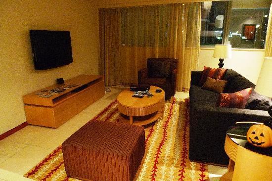 Oakwood Residence Shanghai: Living Room
