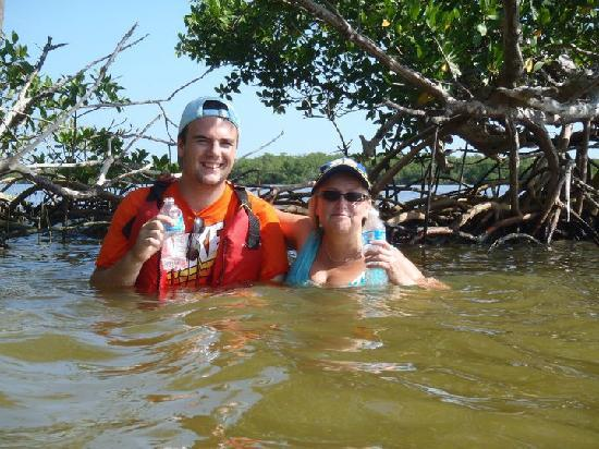 Up a Creek Kayak Tours: Just having our break