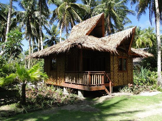 General Luna, Filipinas: one of the cottages