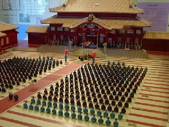 Shurijo Castle : 首里城中の模型
