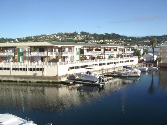 Apartments at Knysna Quays: View Out of Apt #11