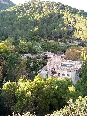Blick auf La Granja
