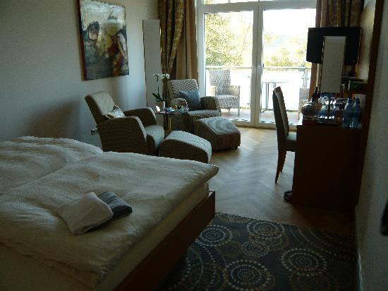 Hotel Villa Huegel: Unser Zimmer