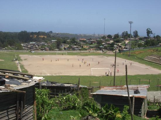 Knysna, South Africa: One on Many Soccer Fields in Emzini Township