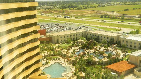Choctaw Casino Resort: pools from room