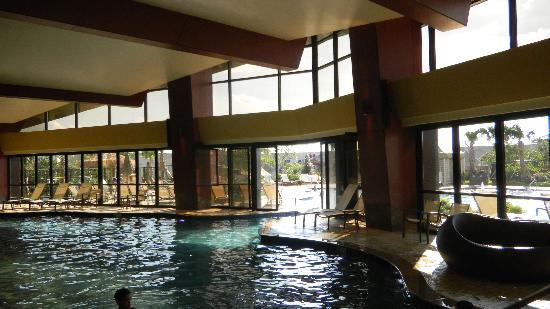 Durant, OK: indoor pool going out