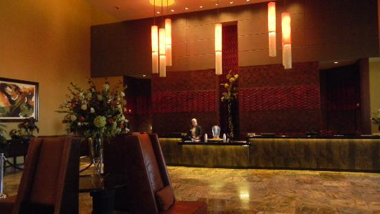 Choctaw Casino Resort: lobby/check in