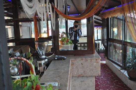Hotel Boris Palace: The Terrace Bar & Restaurant