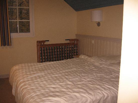 Center Parcs Le Lac d'Ailette : Chambre (avec lit double)