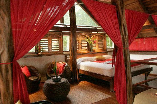 The Red Palm Villas: Bedroom Honeymoon Villa with Beach views