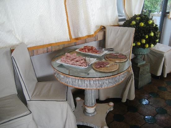 Hotel Villa Carlotta: breakfast