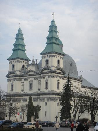 Ternopil, Ukraine: cathedral