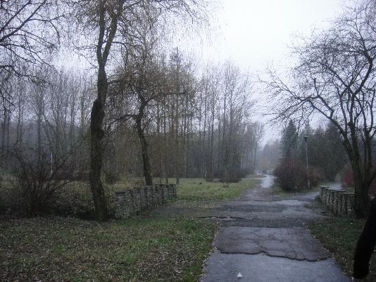 Ternopil, Ukraine : park Topill'che