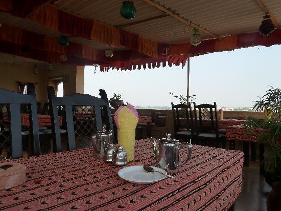 Hotel Fifu: roof terrasse