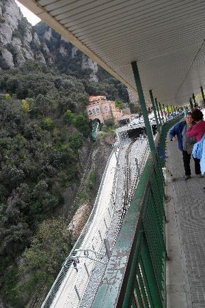 Montserrat, Spain: Funicular