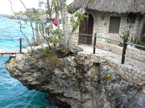 Rockhouse Hotel: A view of our villa.