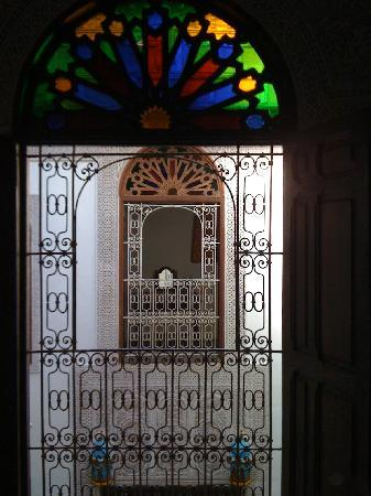 Riad Boujloud: view from the room
