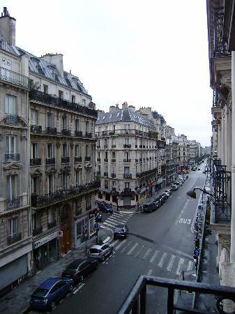Hotel de Paris Maubeuge : vista desde la habitacion