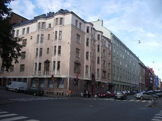 Hellsten Helsinki Parliament: Hotel exterior