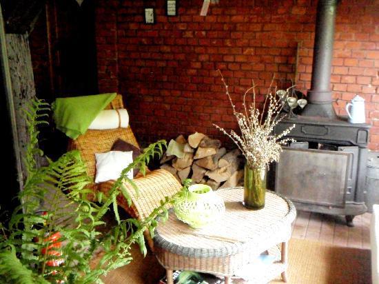 Luxhof chambres d'Hotes : Jardin d'hiver (non chauffé)