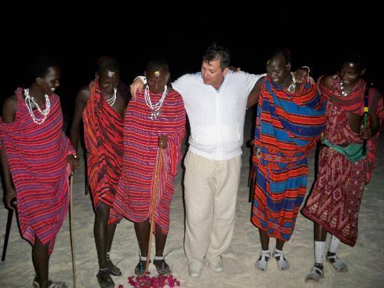 Dongwe Ocean View: Masai Show