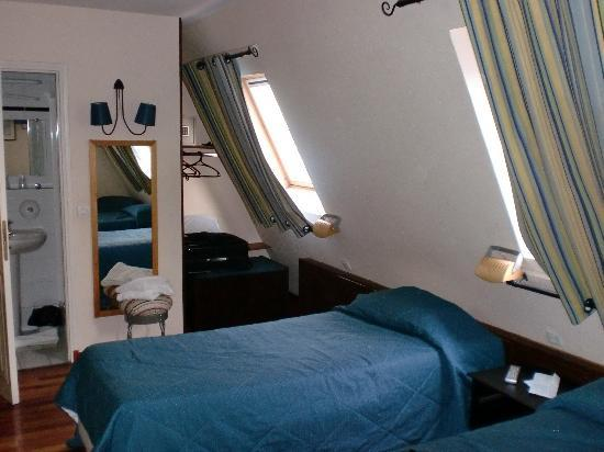 Grand Hotel du Loiret: chambre