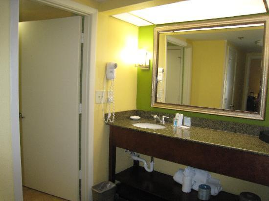 Hampton Inn & Suites Ft. Lauderdale Airport/South Cruise Port: Bathroom - Room 227