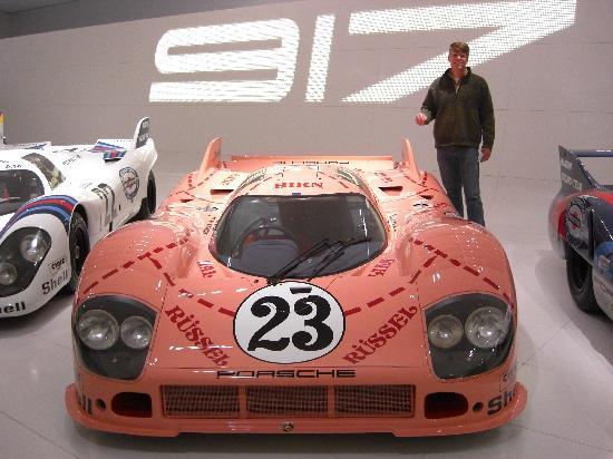 Porsche-Museum: Pink Pig