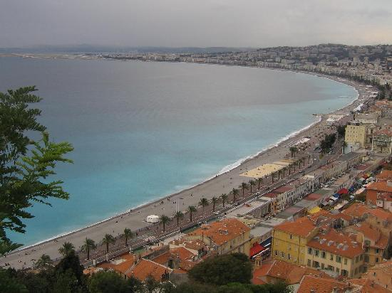 Nice, France: Classic View from the Hill