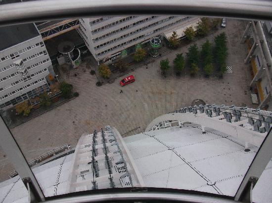 SkyView : ungefähr die Hälfte der Höhe