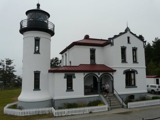 Coupeville, Ουάσιγκτον: Admiralty Head Lighthouse
