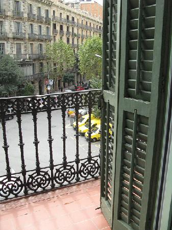 Hostal Eixample: view from room#1